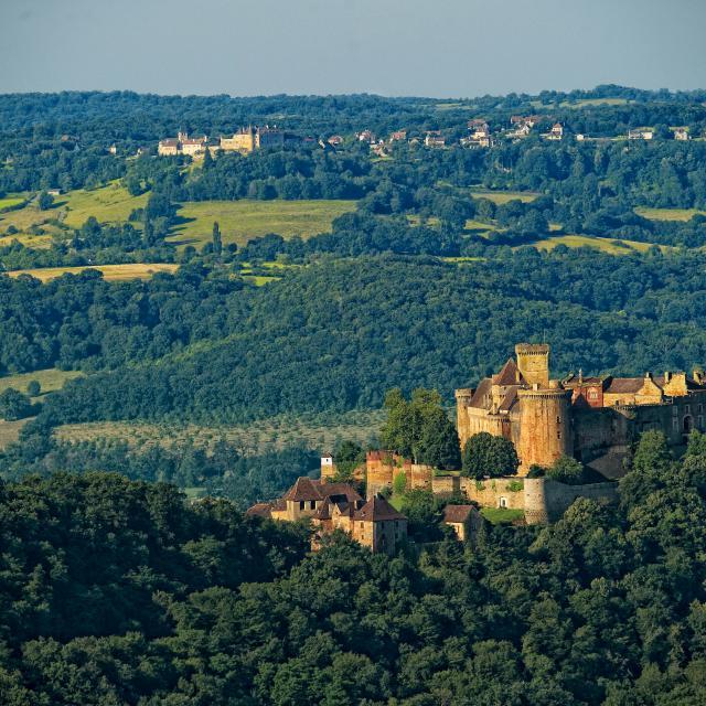 Chateau de Castelnau et Loubressac