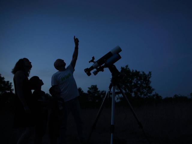 Observation Des étoiles Sur Le Causse @ J. Morel