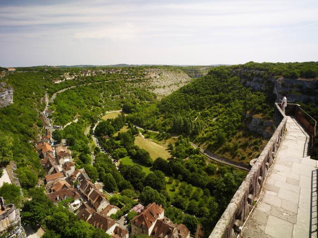 Rocamadour Les Remparts Gsmp Viet ;cf007707