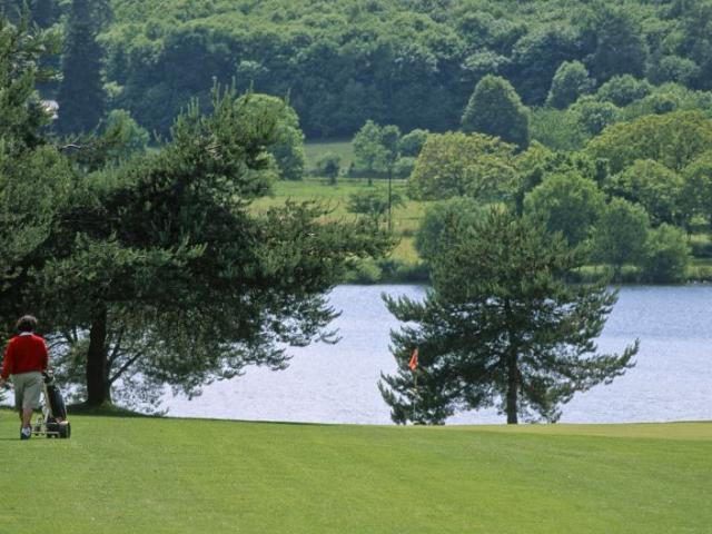 Corrze - Le golf du Coiroux
